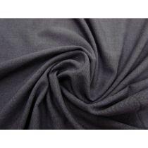 Brushed Back Soft Knit- Denim Blue #1158