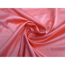 Lightweight Stretch Satin- Coral Pink #1170