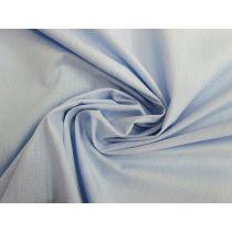 Cotton Blend Shirting- Heathered Blue #1171