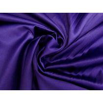 Lustrous Cotton Blend Sateen- Cadbury Purple #1173