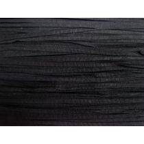 5mm Petersham Ribbon- Black #015