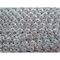 16mm Carnival Sequin Braid Trim- Silver