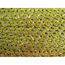 16mm Carnival Sequin Braid Trim- Gold