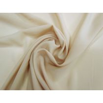 Lightweight Stretch Crepe De Chine- Nude Beige #1231