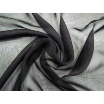 Soft Silk Chiffon- Nimbus Black #1259