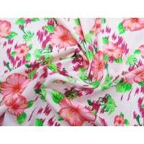 Hibiscus Haze Spandex- Pink #1272