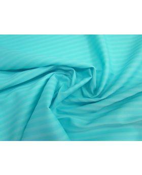 Summer Stripe Matte Spandex- Ocean Aqua #1298