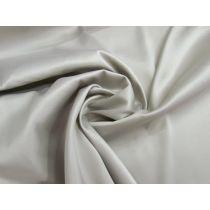 Lustrous Cotton Blend Sateen- Silver Grey #1344