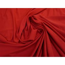 Viscose Jersey- Cherry Pie Red #1348