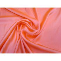 Satin Chiffon- Fluro Peach #1351