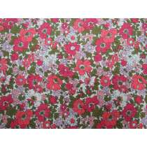 Liberty Cotton- Cosmos Meadow Pink- The Cottage Garden Collection