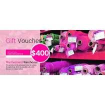 $400 Gift Voucher