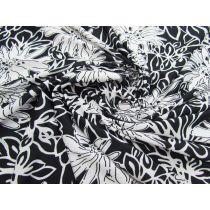 Silhouette Flower Lightweight Jersey #1414