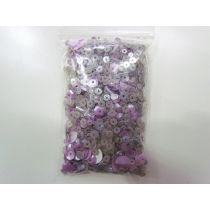 Sequin & Bead Pack- Lilac #004