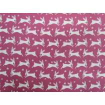 Bunny Hop Cotton- Pink
