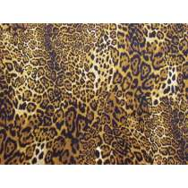 Leopard Look Cotton- Golden