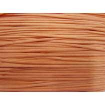 4mm Soft Stretch Cord Trim- Orange #020