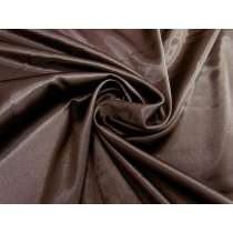 Designer Stretch Satin- Cocoa Brown #1429