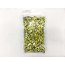 Sequin & Bead Pack- Yellow & Silver #018