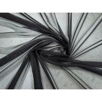 Soft 2-Way Stretch Mesh- Black #1439