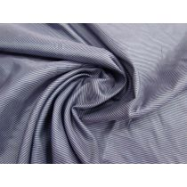 Double Pinstripe Lining- Navy Blue #1442