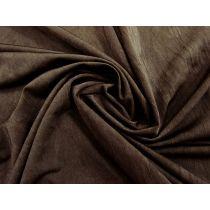Crinkle Look Shiny Spandex- Choc Brown #1444
