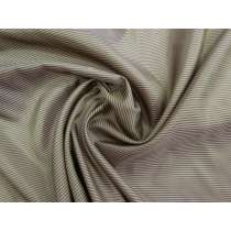 Double Pinstripe Lining- Brown #1455
