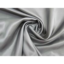 Acetate Twill Lining- Metallic Grey