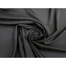 Crepe De Chine- Shadow Black #1458 *PRE-WASH