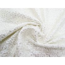 Snow Bunny Metallic Textured Knit #1459