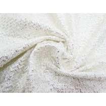 Snow Bunny Metallic Textured Knit #1459