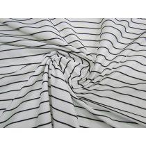 Textured Stripe Jersey Spandex #1484