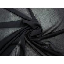 1-Way Stretch Mesh- Soft Black #1496