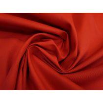 9oz Cotton Drill- Bright Red #1499