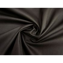 9oz Cotton Drill- Bandit Black #1501