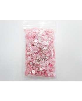 Sequin & Bead Pack- Baby Pink #028