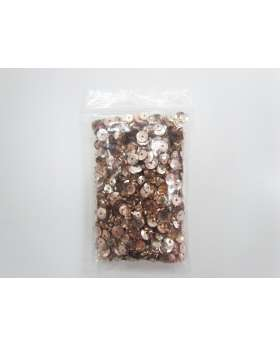 Sequin & Bead Pack- Pale Rose Gold #031