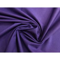 Lightweight Cotton Canvas- Purple #1507