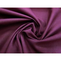 10 oz Cotton Drill- Deep Oxblood #1508