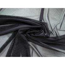 Soft 2-Way Stretch Mesh- Black #1519