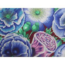Philip Jacobs- Poppy Garden- Blue