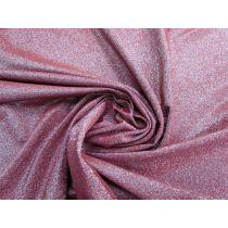 Glitter Shimmer Spandex- Burgundy #1574