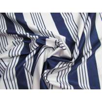 Nautical Stripe Super Slinky Shiny Spandex #1574