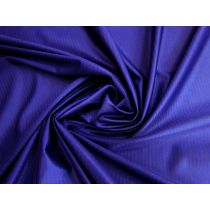 Self Stripe Satin Feel Spandex- Royal Purple #1578