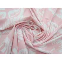 Hibiscus Holiday Spandex- Light Pink #1582