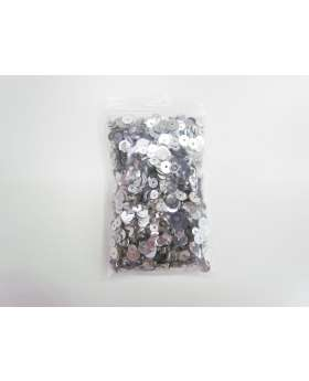 Sequin & Bead Pack- Silver Streak #035