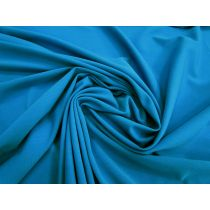 Lightweight Matte Spandex- Pool Party Blue #1629