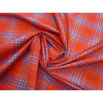Party Plaid 2-Way Stretch Faille #1643