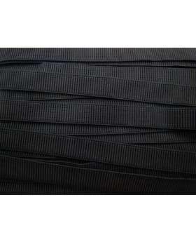 Budget Elastic- 20mm Ribbed- Black
