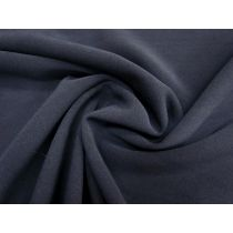 Bonded Stretch Crepe- Space Navy #1735